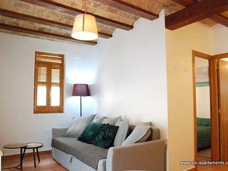 Acogedor y tranquilo apartamento 1 habitacion