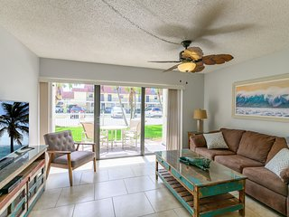 Right on the Ocean - Ground Floor and Pet Friendly - Next to Pier