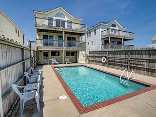 Dream Weaver II | Oceanfront | Dog Friendly, Private Pool, Hot Tub | Nags Head