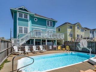 SunBird | 280 ft from the beach | Private Pool, Hot Tub | Nags Head