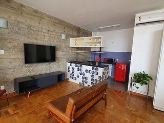 Amplo estúdio no famoso Edifício Copan