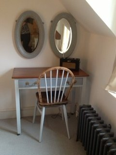 Dressing table with Roberts radio