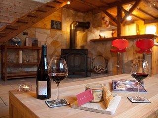 Petit Chalet Cozy 5* : La Clusaz 5km, Annecy 20km Ideal pour un Couple