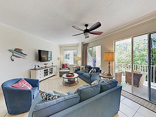 3BR Beachfront Condo at Blue Lupine w/ Pool & Hot Tub