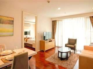 Stunning and spacious 1-bedroom in the heart of Bangkok