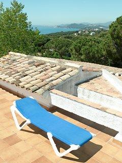 vistas al mar terraza