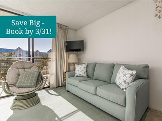 Mystic Point 404 - Short Walk to Beach, Dining & Convention Ctr!