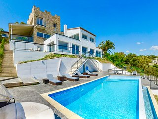 "Villa in Platja d""Aro, Mountain & Sea Views, Pool, 17 Guests!!!"