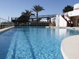Beautiful swimming beach side,