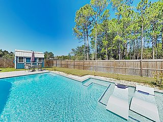 New Listing! Custom Home w/ Private Pool & Entertainer's Kitchen, Near Beach