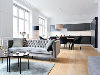 Modern 3-bedroom luxury apartment in the heart of Copenhagen