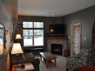Silver Fox - True Ski-in/Ski-out 2 Bedroom/2 Bathroom Corner Ground Unit