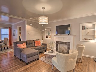 NEW! Chic Tulsa Cottage ~1 Mi to TU & Expo Square