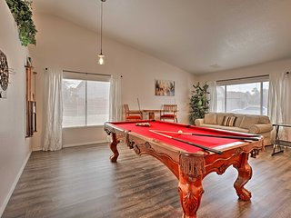 NEW! Large Home w/Game Room < 5 Mi to UOPX Stadium