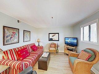 Oceanside Resort Condo w/ Indoor Pool, Tennis & Oceanfront Restaurant