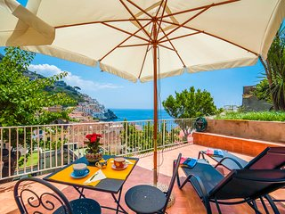 LivingAmalfi: Floria House, Amalfi main centre, stunning sea view, wifi, AC
