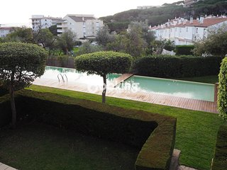 APARTMENT SEA VIEW IN S'AGARÓ WITH COMMUNAL SWWIMING POOL&WIFI NEAR THE BEACH