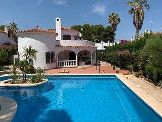 Villa Palmera mit eigenem Pool, Lounge für 8 Personen