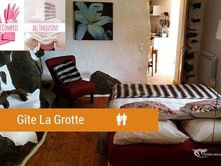 LA GROTTE 3 épis 'Pyrénées mon amour'