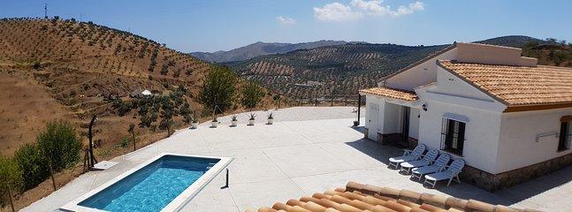 Villa Lucas Andalusie, holiday rental in Villanueva del Rosario