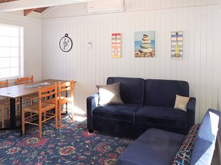 Charming dog-friendly cottage w/ shared pool & hot tub - walk to the ocean!