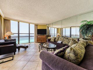 Split coastal condo with shared pool, tennis, fitness room, & easy beach access!