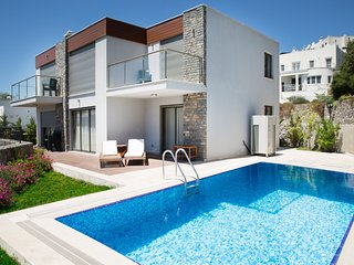 Villa Bavaria, 4 Bedroomed Modern Villa with Jacuzzi and private swimming pool