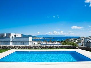 Villa Savarona, 4 Bedroom Villa with sea view, Jacuzzi and Private swimming pool