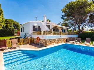 VILLA BINI SAMSARA - Ideal for families, fenced pool, close to Binibeca beach
