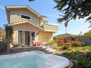 Pleasure Point Retreat | Hot Tub, Balcony Views & Game Room | Walk to Beach