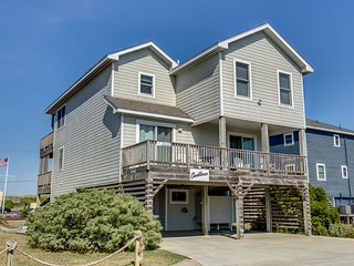 Casa Blanca | 920 ft from the beach | Private Pool, Hot Tub | Nags Head