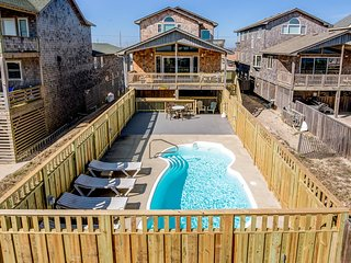 Sandy Too | Oceanfront | Private Pool | Nags Head
