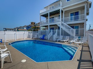 Majestic Palm #2 | 753 ft from the beach | Private Pool, Hot Tub | Nags Head