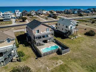 Tranquility Base | 490 ft from the beach | Private Pool, Hot Tub | Nags Head