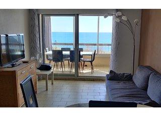Salon avec vue sur mer