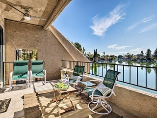 NEW! Tempe Temptation w/ Lake Views ~4Mi to ASU