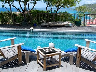 Villa Serenity | Ocean View - Located in Magnificent Gustavia with Private Poo