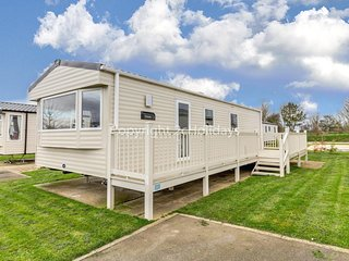 6 berth caravan for hire with decking on Skipsea Sands holiday park ref 41004B