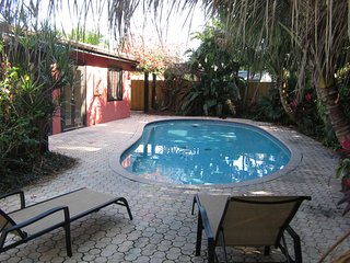 Boca Raton vacation home with heated pool