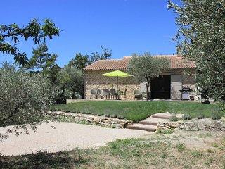 Maison de vacances avec vue exceptionnelle sur le Luberon