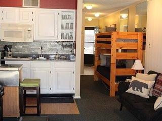 Bear Canyon Condo #129  Bear Canyon Condo #129 - Cozy Cabins Real Estate, LLC.