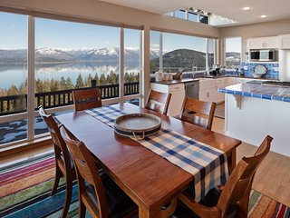 NEW! Sensational Views! Family home with lake access.