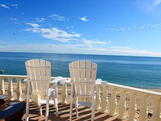 Stunning 3 Bedroom Beach Villa on Sandy Beach at Las Palmas Beachfront Resort V1