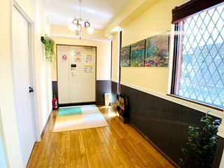【Roppongi Family apartment】Near Roppongi station, 2 bed room with 4 beds!!
