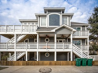 Otter Banks | 810 ft from the beach | Private Pool, Hot Tub | Corolla