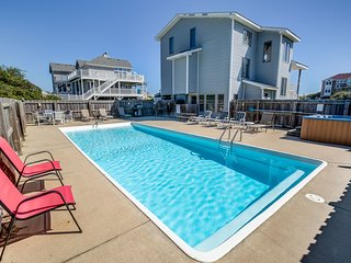 Judge's Chambers | 415 ft from the beach | Private Pool, Hot Tub | Corolla
