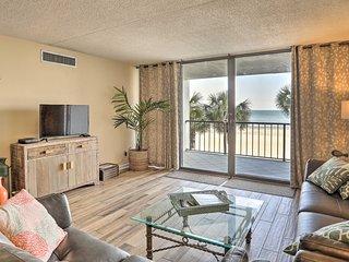 Oceanfront Myrtle Beach Condo w/ Balcony & Pool!