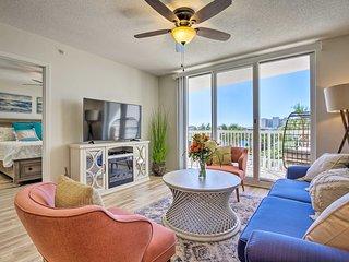 Gulf-View Getaway - Walk to Beach & Restaurants!