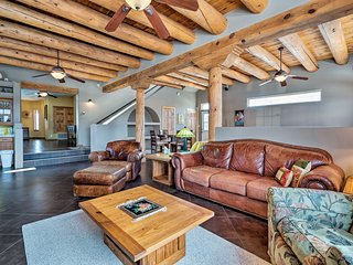 NEW! Secluded Los Luceros Retreat w/Mountain Views