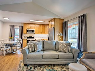 NEW! Ideally Located Saluda Apartment on Main St!